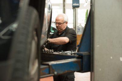Professioneller Service in unserer Werkstatt