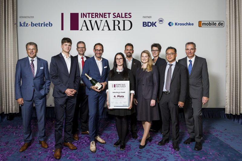 Internet Sales Awaed