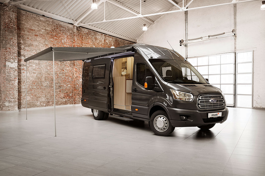 ford tourneo custom wohnmobil ausbau fordtransit tourneo. Black Bedroom Furniture Sets. Home Design Ideas