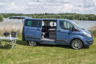 Weitere Ausbauten des Ford Campinbus möglich z.B. mit dem Ford Transit Custom