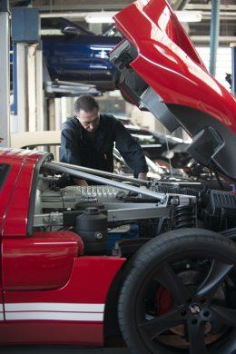 Getriebeinstandsetzung in der US Car Werkstatt Köln