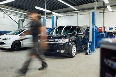 Umrüstung US Fahrzeuge bei Auto-Strunk