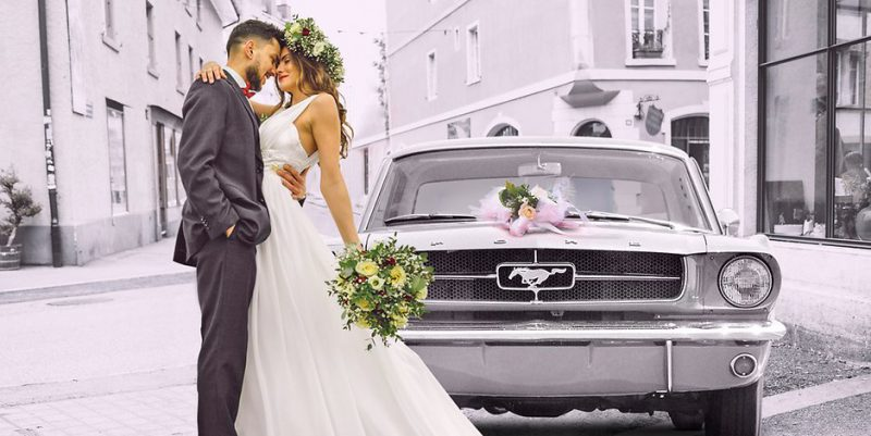 silberne Hochzeit Mustang