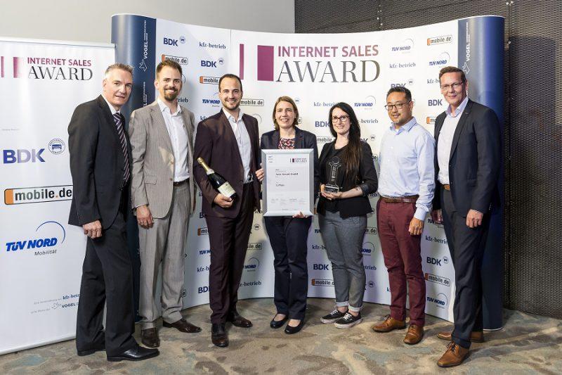Internet Sales Award